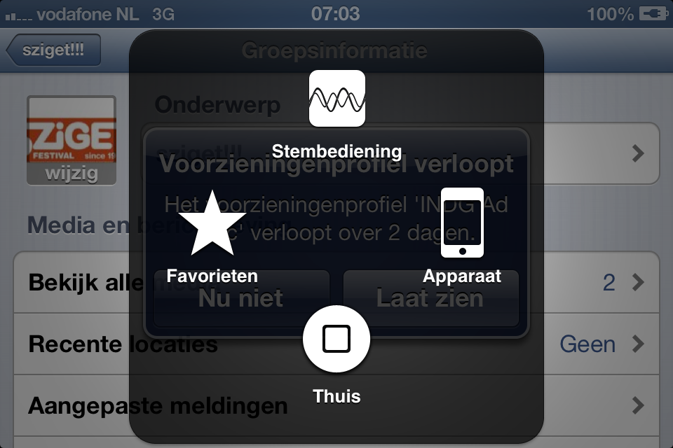 Briljante screens: Assistive Touch voor iPhone